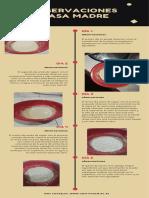 Rojo Marrón Iconos Ilustrado Examen Cronología Infografía