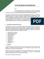 SEGREGACION DE RESIDUOS SOLIDOS