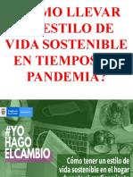 CÓMO LLEVAR UN ESTILO DE VIDA SOSTENIBLE EN TIEMPOS DE PANDEMIA.pptx