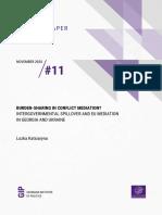Burden-sharing in Conflict Mediation? Intergovernmental Spillover and EU Mediation in Georgia and Ukraine