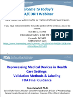 RESUMO Reprocessing-Medical-Devices-in-Health-Care-Settings--Validation-Methods-and-Labeling---Printable-Slides