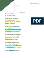 the plain sense of things poem response notes