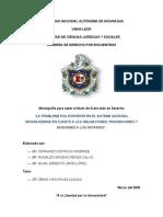 La problematica existente en el sistema notarial nicaraguense en cuanto obligaciones, prohibiciones y sanciones a los notarios-1