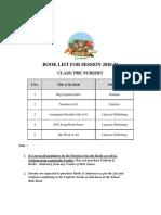 Classes-Pre-Nursery-to-Prep-2020-21-Book-List-1