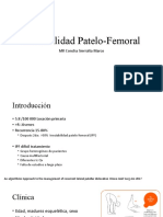 Inestabilidad Patelo-Femoral