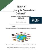 TEMA 6 La Ètica y la Diversidad Cultural  o Multiculturalismo-2020