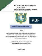 DERECHO MUNICIPAL-