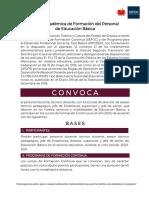 2da Convocatoria PRODEP 2020 firmada