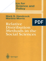 R_gini_Mark S. Handcock, Martina Morris - Relative Distribution Methods in the Social Sciences (Statistics for Social and Behavioral Sciences) (1999)
