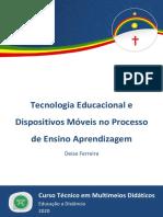 Ebook - MMD - Tecnologia Educacional e Dispositivos Móveis no Processo de Ensino e Aprendizagem