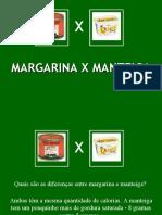 Margarina X Manteiga
