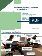Usuarios de Computadores - Conselhos Ergonometricos