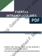FUERZAS INTERMOLECULARESI