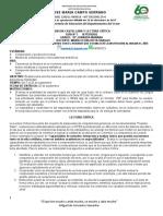 #3 III P 10º  CASTELLANO Y LECTURA