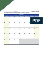 Calendario-2017 en blanco