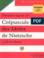 Leçons sur Crepuscule des Idoles de Nietzsche _B- Roche