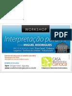 Workshop de Interpretação para TV com