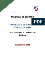 Gustavo Adolfo Villarroel Pinilla