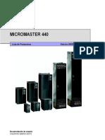 MICROMASTER 440 PARAMETROS.pdf