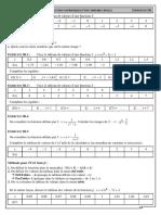 Chap 3 - Ex 3B - Images et antécédents d'une fonction - CORRIGE