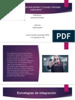 """Evidencia 3.3 Ejercicio práctico """"La mejor estrategia corporativa"""" KATHE."""