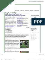 Flag Football Plays - Flag Football Playbook
