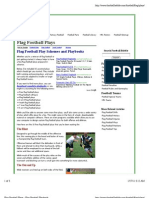 Flag Football Plays - Flag Football Playbook