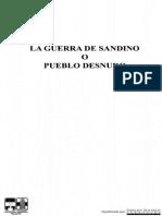 Salomón de la Selva. La guerra de Sandino o pueblo desnudo, 123 pp.