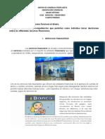 GUÍA SERVICIOS FINANCIEROS 4P