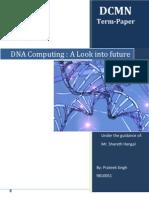DNA Computing_Prateek Singh