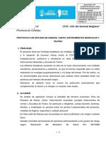 Protocolo Estudios de Danzas Canto Instrumentos Musicales y Teatro 03 Nov