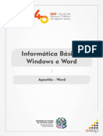 apostila - WORD 2010