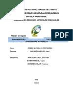 PLAN DE MANEJO DE DEL DISTRITO DE  JOSE CRESPO Y CATILLO