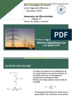 Modulo 2.3 Divisor de voltaje y corriente