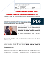 CHRISTIAN CARO 1103 CUBA EN LA ONU - DERECHOS HUMANOS OCTUBRE 2020