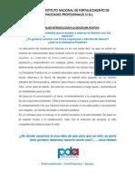 DISCIPLINA POSITIVA  TALLER 05 DE NOVIEMBRE