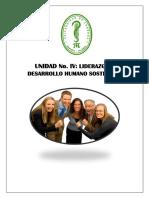 UNIDAD N-4 LIDERAZGO Y DESARROLLO HUMANO SOSTENIBLE.pdf