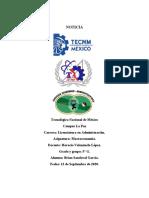 EVENTOS MACROECONÓMICOS DE MÉXICO EN 2020