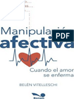 Manipulacion afectiva - Belen Vitelleschi
