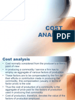 Copy of Cost analysis
