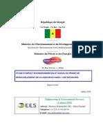 Senelec 20180711 Rapport Final EIES HCB VersionBM