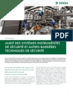 Dekra Process Safety Datasheet Audit Des Systemes Instrumentes de Securit Et Autres Barrieres Techni(1)
