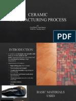7Ceramics Manuf Process ppt report7