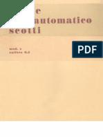 Fucile Scotti Modello X