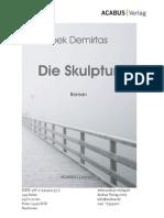 """Press Release """"Die Skulptur"""" von Ipek Demirtas"""