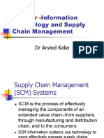 Role of IT in SCM-notes