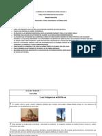 CUADERNILLO  DE APRENDIZAJES ARTES VISUALES 3