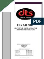 DTS_600_GDO_Installation_Manual