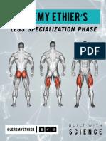 Intermediate Build - Legs