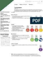 Pacto Global - Os 10 princípios